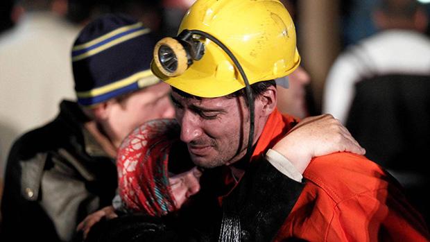 Gruve-ulykken i Soma-Foto:Osman Orsal